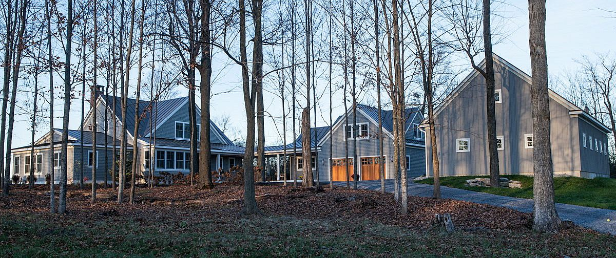 Wooded Home by Jeff Bradley Construction